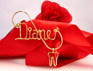 personalized name Dental Pin Dentist