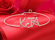 Initials Bracelet Personalized Name