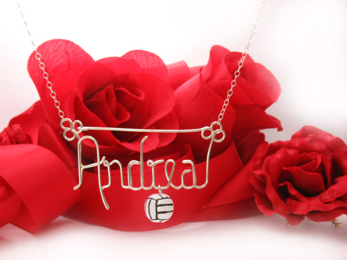 Volleyball_charm_pendant_necklace-wire-personalized