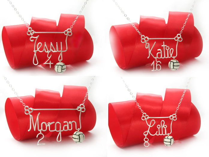 Volleyball_charm_pendant_necklace-wire-personalized-names