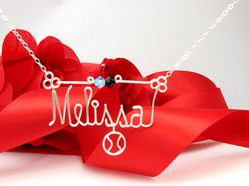 SoftBall_charm_pendant-necklaces-personalized-wire