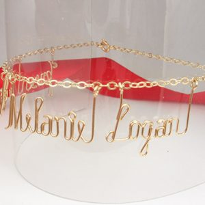 Anklet Personalized Name