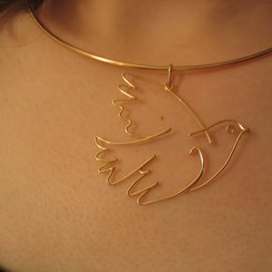 Choker or Wire Neck customized Wire Necklaces