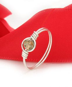 Ring in silver or gold wire