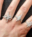 Heavy-Silver-rings-wire-wrapped-ring